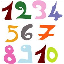 De quelle couleur le chiffre auquel tu penses est-il ?
