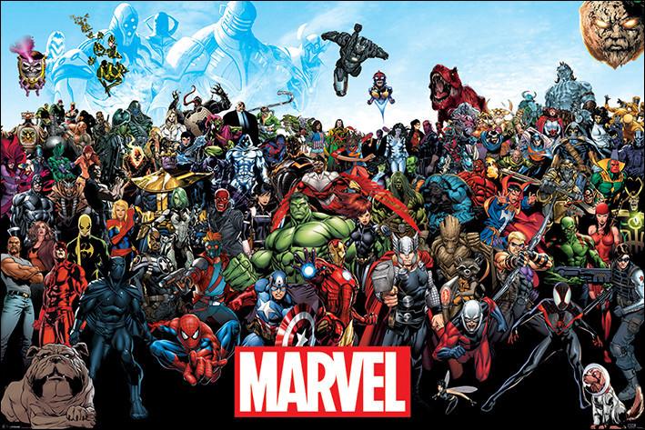 """Lequel de ces personnages ne fait pas partie de l'univers """"Marvel"""" ?"""