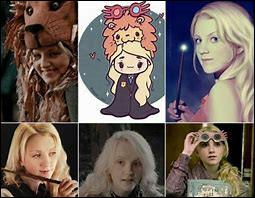 Luna Lovegood est la fille de...