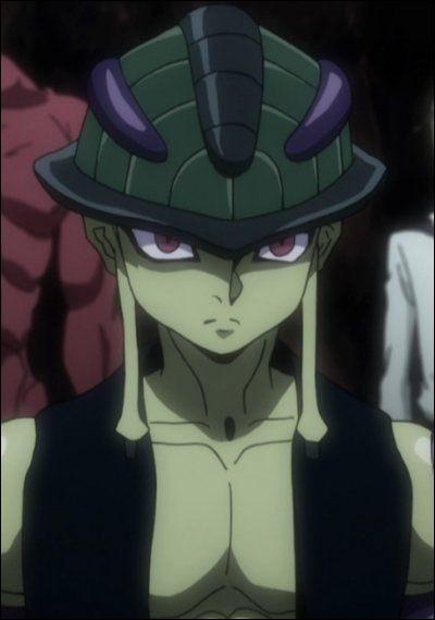 HxH : comment s'appelle la fille avec qui Meruem jouaitau gungi ?