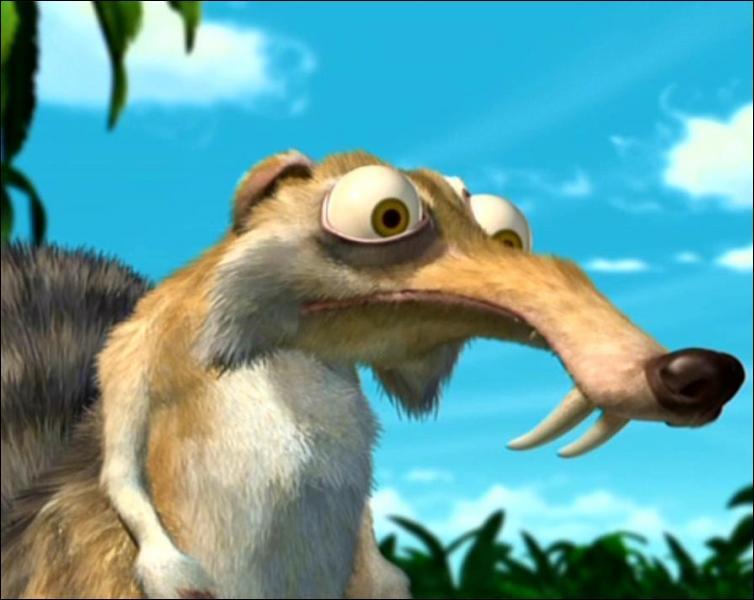 Comme il a commencé, le film se termine sur l'écureuil rigolo. A cause de quel fruit provoque-t-il l'éruption d'un volcan ?