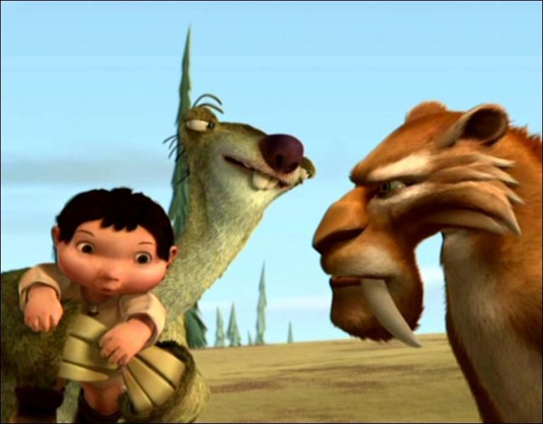 Pourquoi Manny et Sid sont-ils forcés de prendre Diego avec eux pour aller ramener le bébé à son père ?