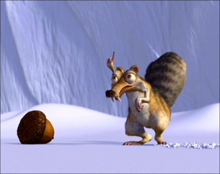 Qu'essaie de faire deviner l'écureuil au trio ?
