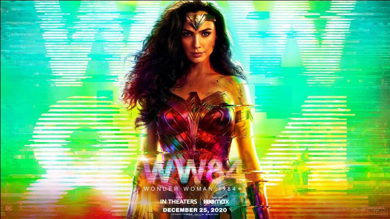 """""""Wonder Woman"""" est le titre d'un film joué par Gal Gadot."""