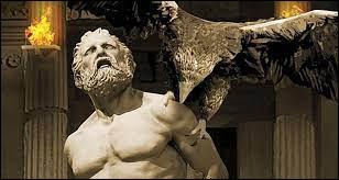 Sur l'ordre de Zeus, quel rapace rongeait chaque jour le foie de Prométhée alors que celui-ci était enchaîné ?