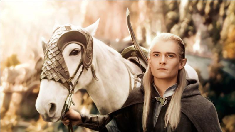 Avec qui Legolas chevauche-t-il ? (Ils utilisent le même cheval)