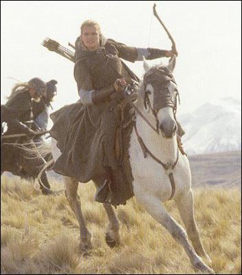 Comment s'appelle le cheval de Legolas ?