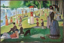Que t'inspire cette peinture de Georges Seurat ?