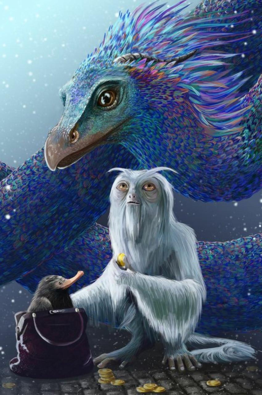 Quelle créature es-tu dans 'Les Animaux Fantastiques' ?