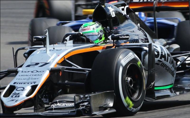 Après être passé chez Sauber, le pilote de la voiture numéro 27 retourne chez Force India pour la saison 2014. Comment s'appelle ce pilote ?