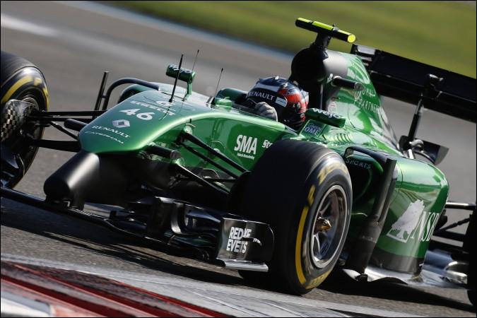 Après le départ de Marcus Ericsson, Catheram lui cherche un remplaçant. C'est ainsi que Catheram a engagé quatre pilotes au cours de cette saison 2014. Le pilote de la voiture numéro 46 n'a été titularisé que pour une course ; qui est-il ?