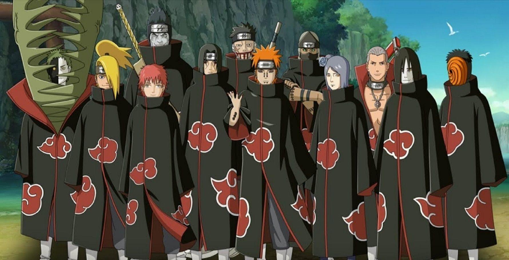Qui es-tu dans l'Akatsuki ?