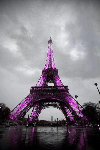 De 1887 à 1888, quelle fut la première couleur de la tour Eiffel ?