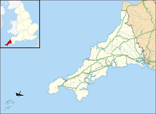 """Seven Rocks (Cornouailles, GB) 1967 > le superpétrolier """"[nom ?]"""" perd 123 000 t de pétrole brut, souillant 180 km de côtes (anglaises et françaises)."""