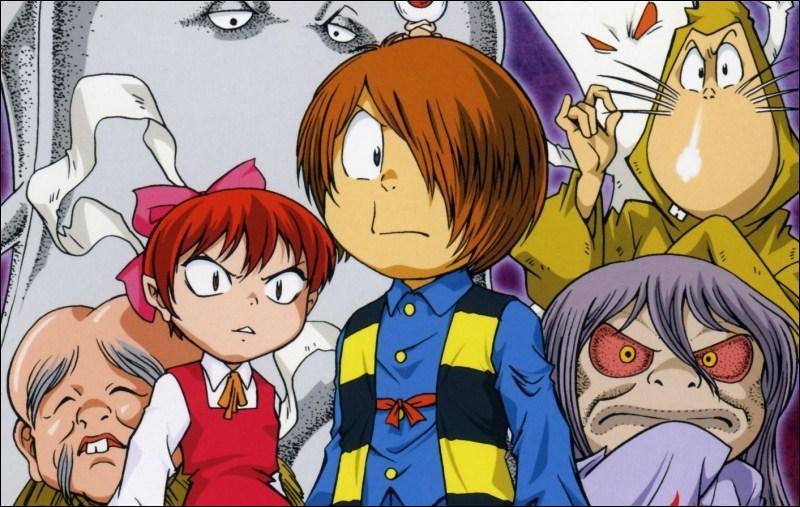 Dans ce manga, un petit fantôme désabusé par la nature humaine rencontre lors de ses aventures les personnages des vieux mythes, et bien entendu, lors de l'un d'elle, un Shinigami ! C'est dans :