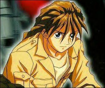 Dans ce manga, «Shinigami» est le surnom de Duo Maxwell, l'assassin de l'equipe. De plus, l'engin qu'il pilote est le Deathscythe, autrement dit «La Faux de la Mort». C'est dans :