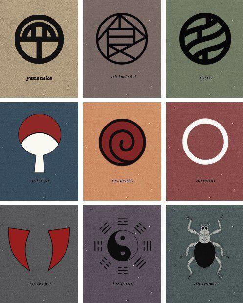 Les clans dans Naruto