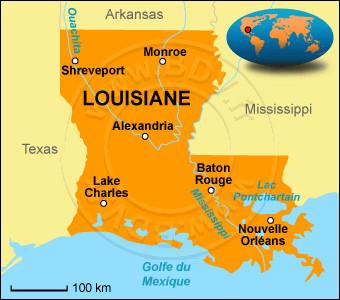 Quelle est la capitale de l'État américain de Louisiane ?