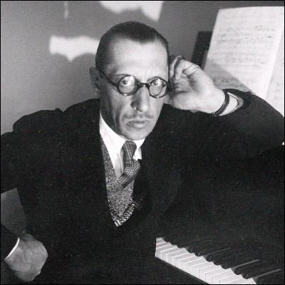Lequel de ces ballets est l'œuvre d'Igor Stravinsky ?