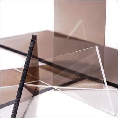 Sous quel nom est plus connu le polyméthacrylate de méthyle, un polymère transparent ?