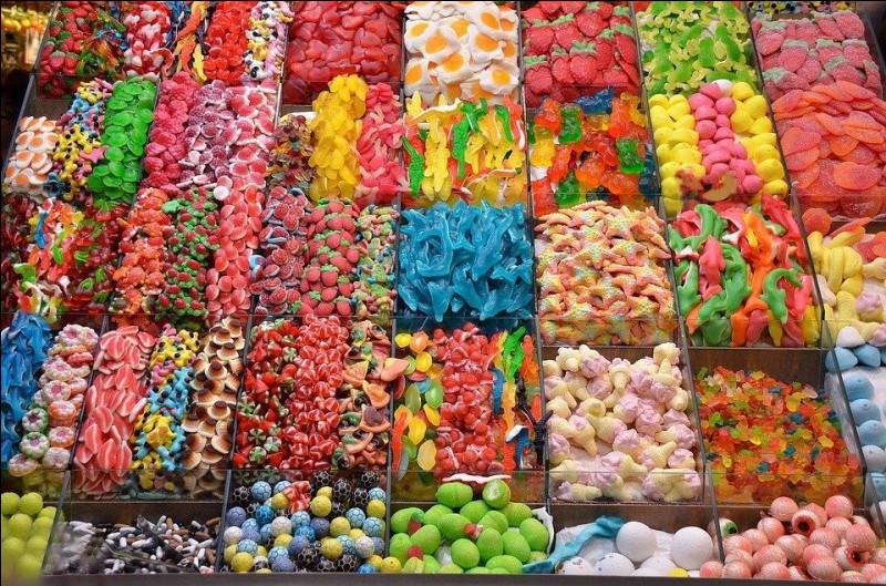 Laquelle de ces marques ne vend pas de bonbons ?
