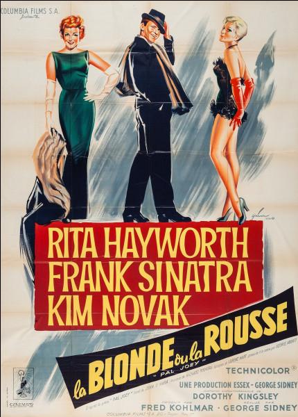 """J'ai été appréciée dans les films """"La Blonde ou la Rousse"""" et """"Sueurs froides"""". Mon nom est :"""