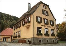 Commune du Grand-Est, dans le parc naturel régional des Ballons des Vosges, Mittlach se situe dans le département ...