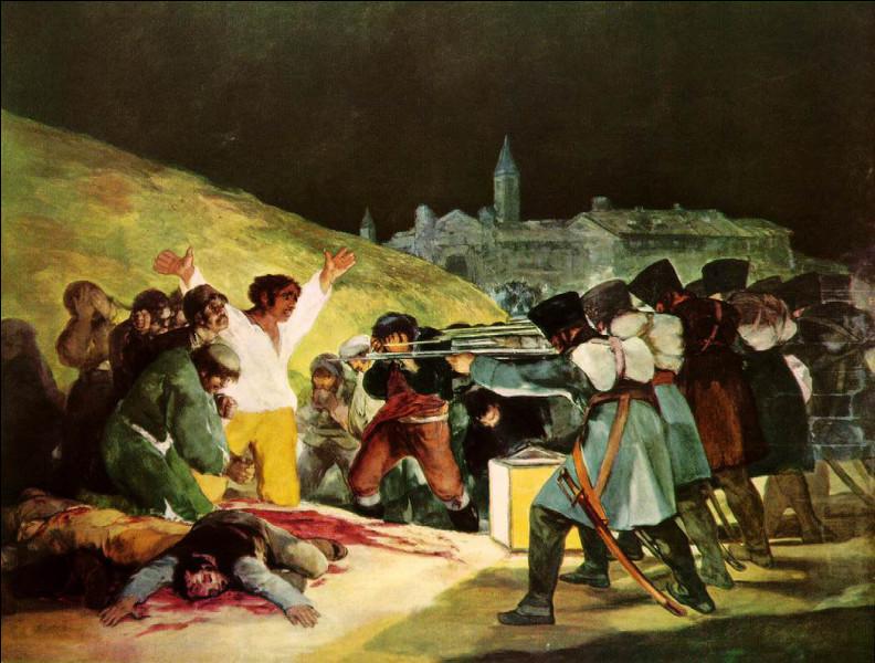 "Qui a immortalisé la date du 3 mai par sa toile ""Tres de Mayo"" ?"