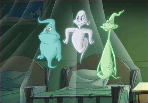 D'où viennent ces trois petits fantômes ?