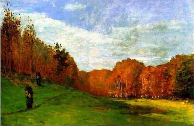 On facilite la dernière question pour faire plaisir au membre Hippophile ! Qui a représenté les porteurs de bois dans la forêt de Fontainebleau ?