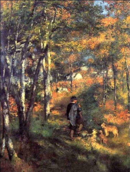 Qui a représenté Jules Lecœur dans la forêt de Barbizon ?