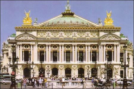 Quel est l'autre nom du Palais Garnier à Paris ?