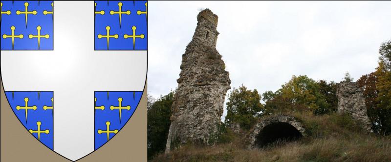 """Très bien équipé, ce village de Bainville : parce que malgré un château légèrement en ruine, ils sont quand même """"Bainville-aux-..."""""""