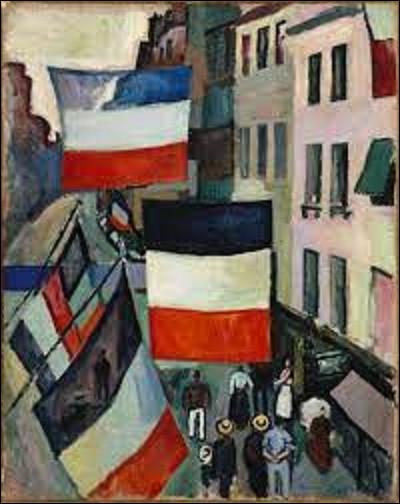Représentant une rue du Havre un 14 juillet, ''La Rue pavoisée'' est un tableau exécuté en 1906 par un fauviste. De qui s'agit-il ?