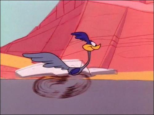 Qui est ce personnage de la série Looney Tunes, un Grand Géocoucou extrêmement rapide à la course ?