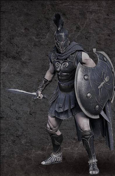 Invincible combattant commandant des Myrmidons lors de la guerre de Troie. Qui est-il ?
