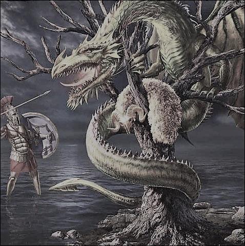 Jason du combattre cette terrible créature gardienne de la Toison d'or. Quel est ce dragon ?