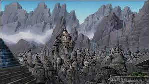 Comment s'appelle le village caché situé dans le pays de la Terre ?