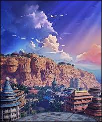 Comment s'appelle le village caché situé au pays du Feu ?