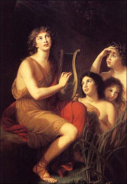 Orphée pouvait entraîner les animaux par son chant, mais Amphion, lui, avait, grâce à sa lyre, le pouvoir de faire se déplacer :
