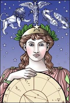 Astéria a donné son nom à l'île d'abord appelée Astérie. Cette île, sur laquelle sa soeur, Léto, vint accoucher d'Apollon et d'Artémis, sera renommée :