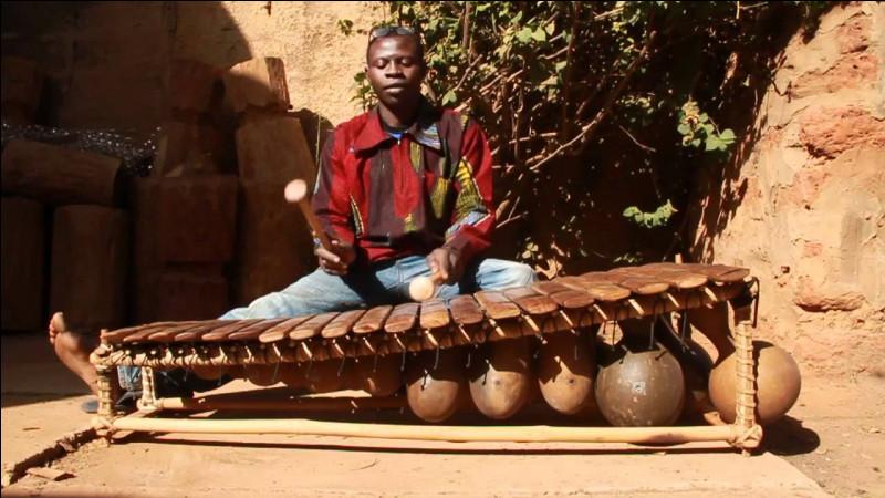 Instrument de musique à percussion d'Afrique noire !