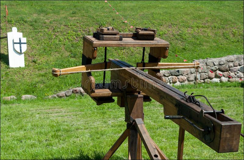 Machine de guerre romaine qui servait à envoyer des projectiles !