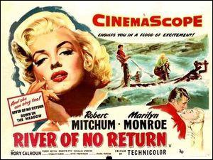"""J'ai un rôle à la fois dans """"Rivière sans retour"""" et dans """"Niagara"""".Je m'appelle :"""
