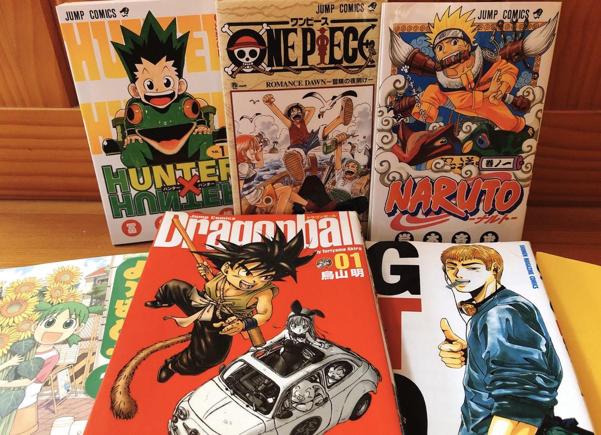 Les mangas connus