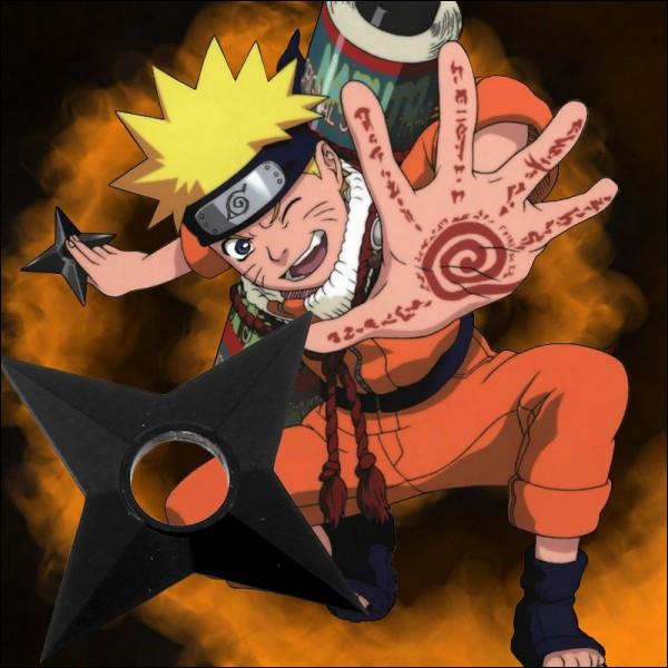 Quand Naruto est dans l'eau, combien de shuriken lance-t-il sur Kakashi ?