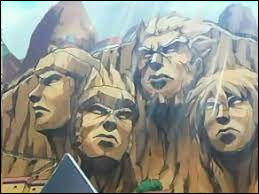 Déjà, pour commencer, dans les premières cases du tome, Naruto dessine sur les portraits des Hokages, mais sur lequel a-t-il dessiné une crotte ?