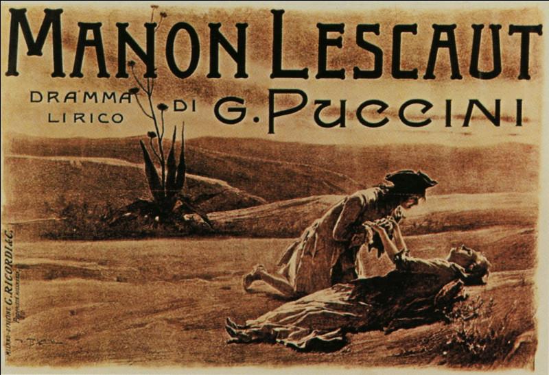 Quel est le nom de l'amant de Manon Lescaut ?