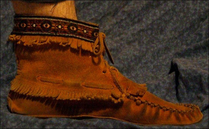 Les chaussures des Indiens d'Amérique s'appellent :