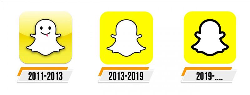 Quel personnage est représenté sur le logo Snapchat ?